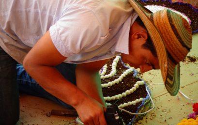 Manifestación cultural silletera del territorio de Santa Elena
