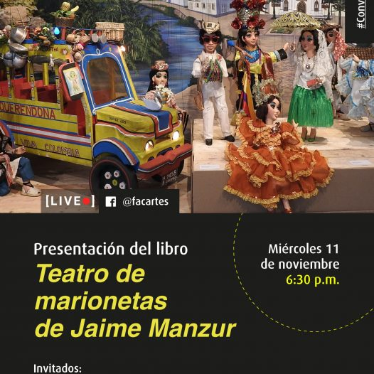 Presentación del libro Teatro de marionetas de Jaime Manzur