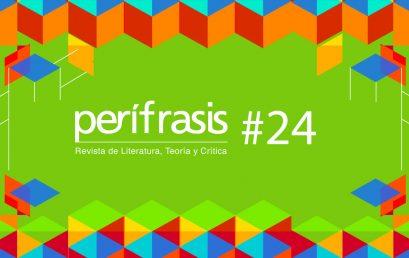 Convocatoria 24 de la Revista Perífrasis de Humanidades y Literatura