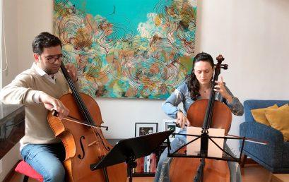 Concierto del mediodía: Dúo de Greiff, dúo de violonchelo