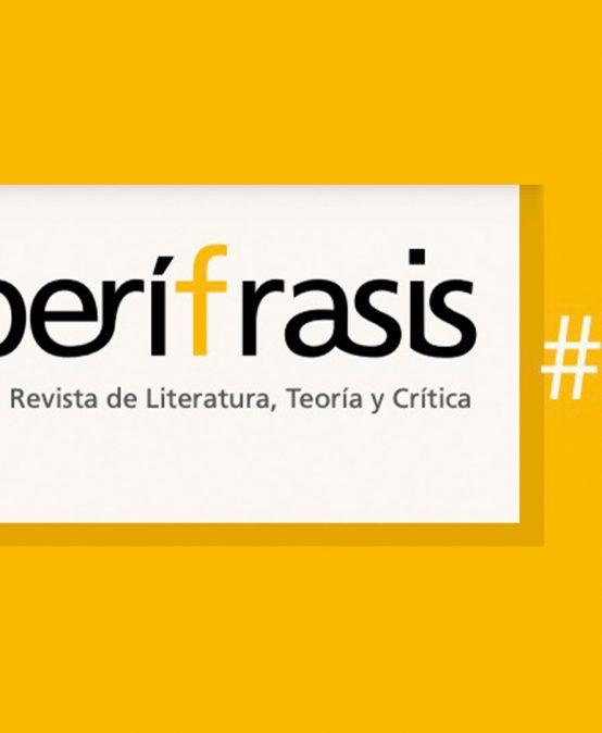 Convocatoria 25 de la Revista Perífrasis de Humanidades y Literatura