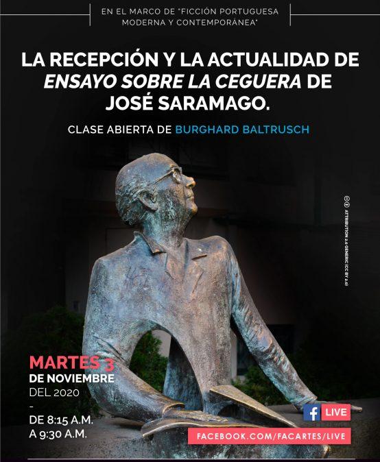 La recepción y la actualidad de Ensayo sobre la ceguera de José Saramago