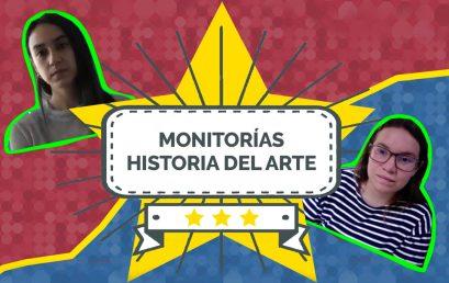 El equipo de Juanita Solano y su monitora María Antonia Fernández | Historia del Arte