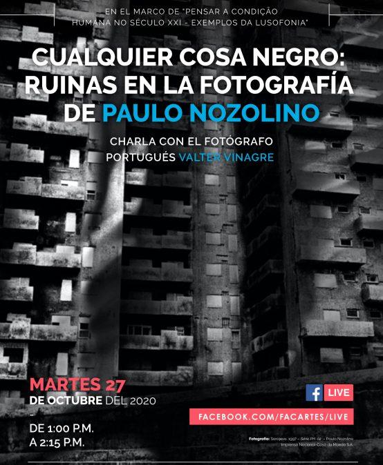 Cualquier cosa negro: Ruinas en la fotografía de Paulo Nozolino