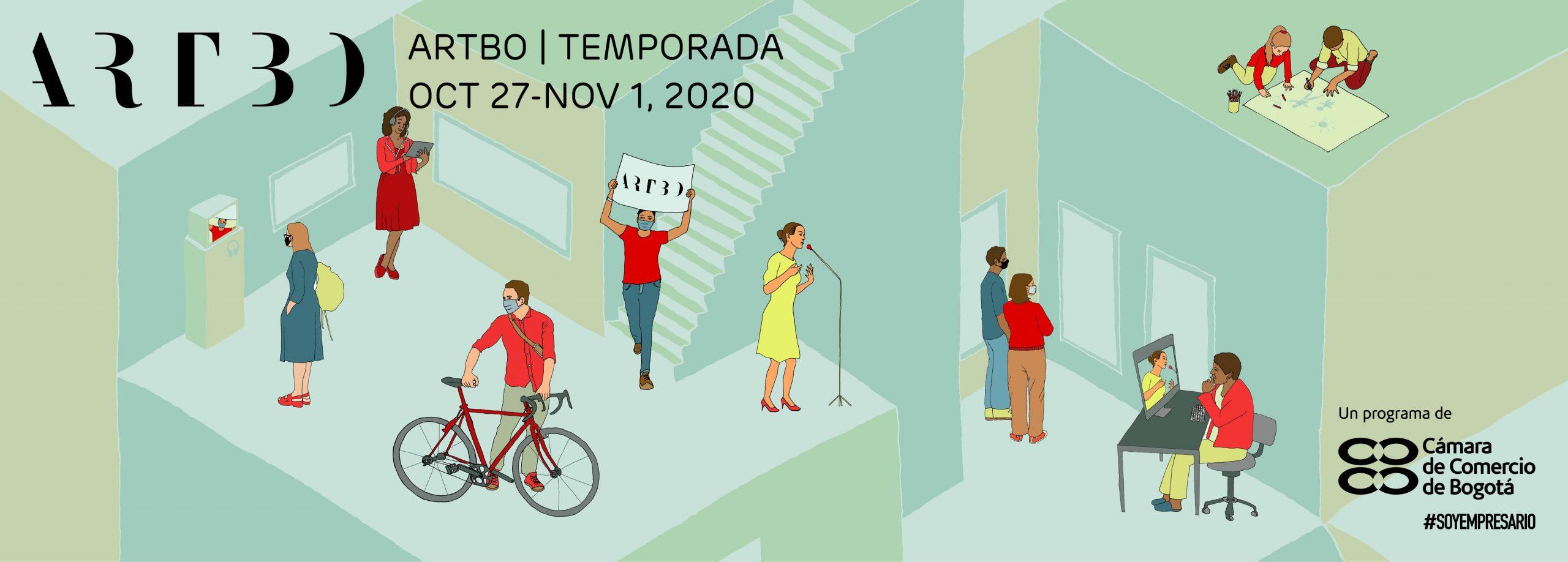 Conozca a los artistas uniandinos que participan en Artecámara de Artbo 2020