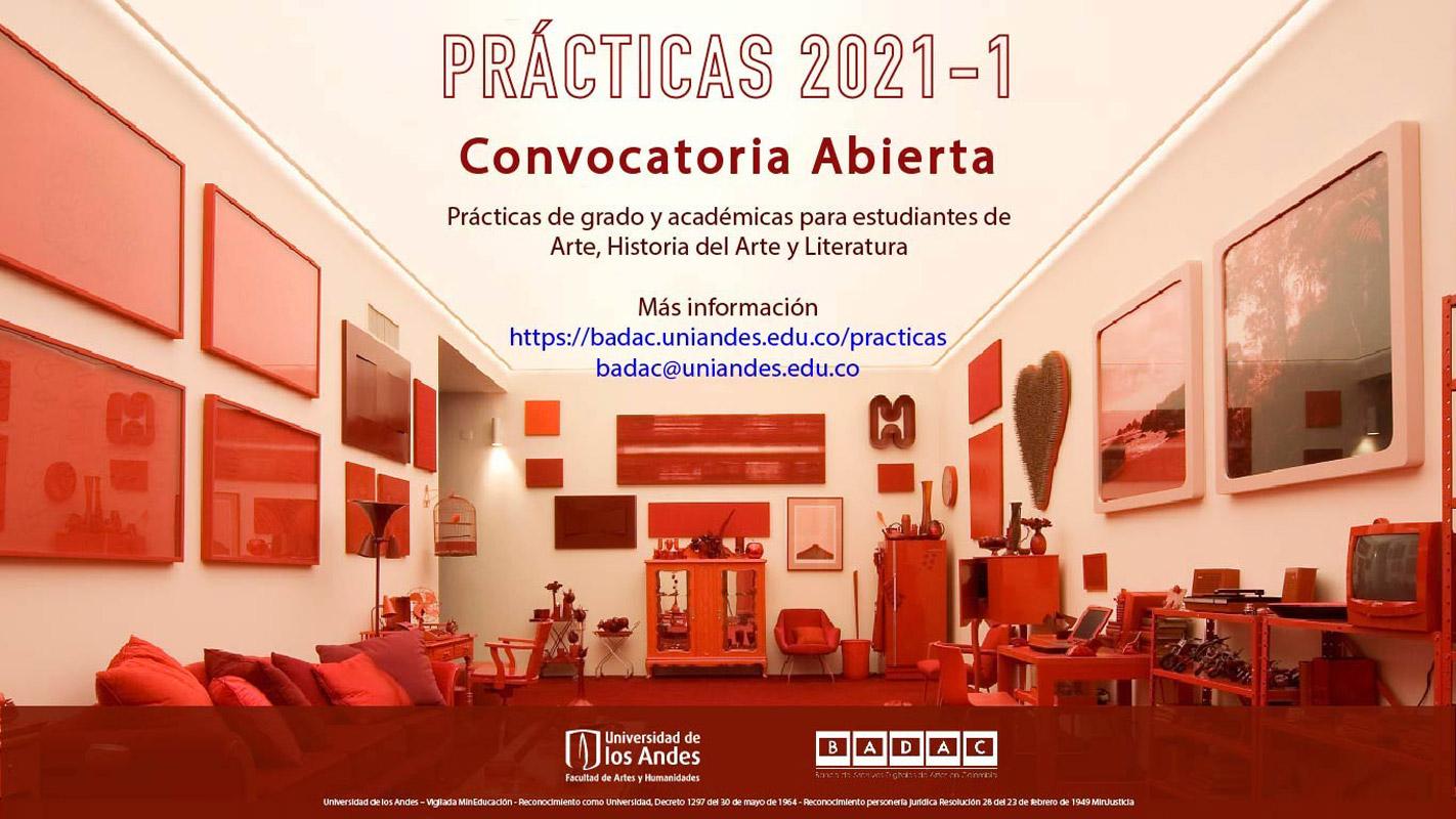 Convocatoria abierta prácticas BADAC 2021 -1