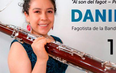 Clase didáctica de fagot a cargo de nuestra egresada Daniela Garzón