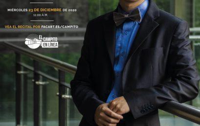 Recital de grado | Andrés Hurtado, piano