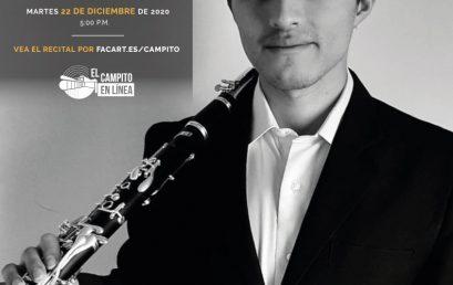 Recital de grado | Luis Mora, clarinete