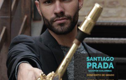 Recital de grado | Santiago Prada, saxofón