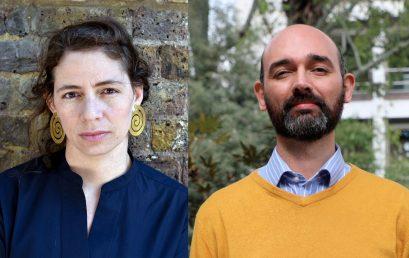 Dos nombramientos en el primer semestre del 2021 en la Facultad de Artes y Humanidades: Sandra Sánchez López y Daniel Velasco