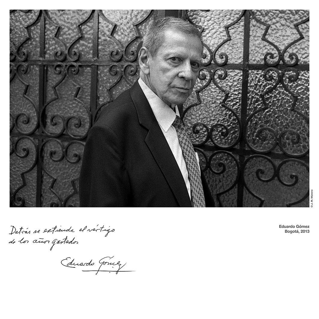 Homenaje a Eduardo Gómez Patarroyo en El Espectador