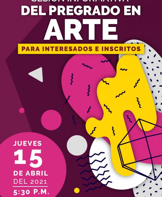 Sesión informativa del pregrado en Arte