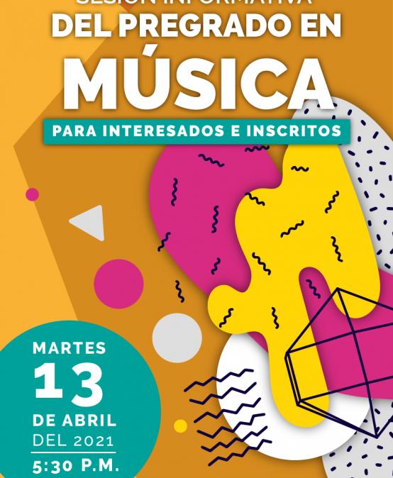 Sesión informativa del pregrado en Música