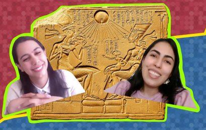 El equipo de Natalia Lozada y su monitora Valeria Vélez | Historia del Arte