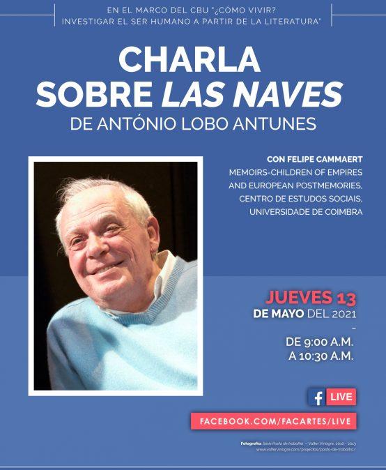 """Charla sobre """"Las naves"""" de António Lobo Antunes"""