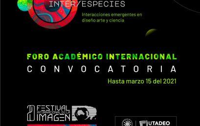 INTER / ESPECIES: Convocatorias XX Festival Internacional de la Imagen
