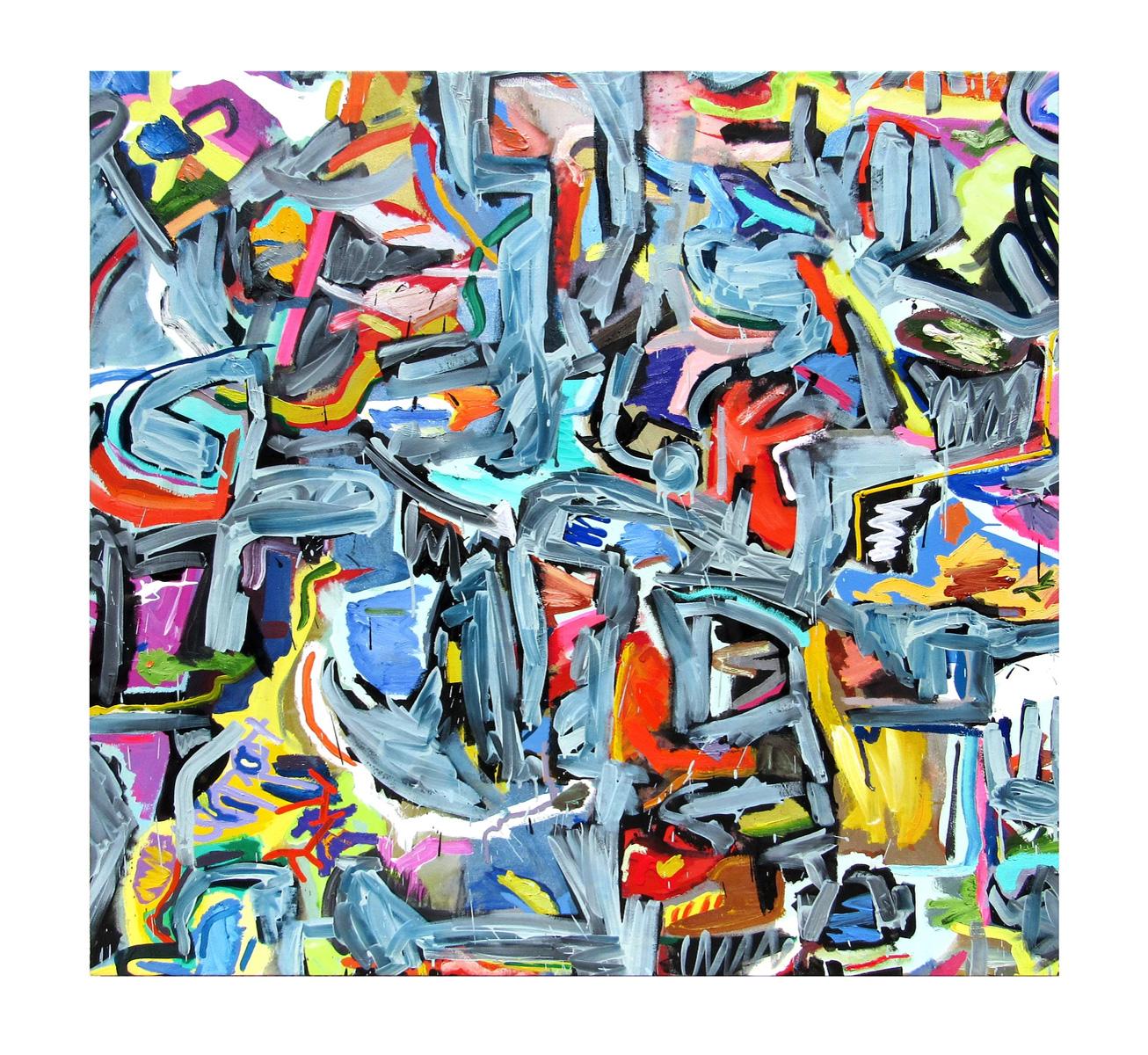 """Pinturas felices: texto de nuestro profesor Fernando Uhía sobre la exposición """"Los días de la marmota"""" de Gustavo Niño"""