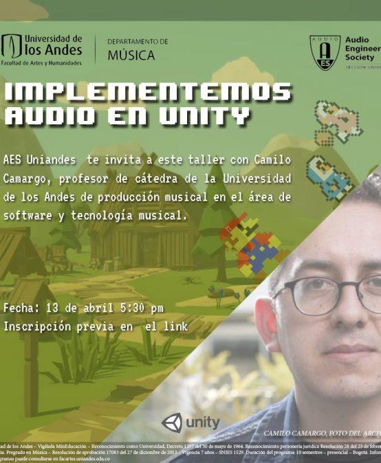 Implementemos audio en Unity   Charlas AES