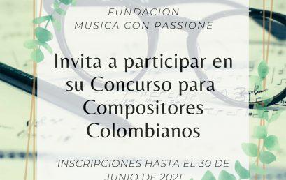Concurso de composición sinfónica 2021 – 2022 | Fundación Música con Passione