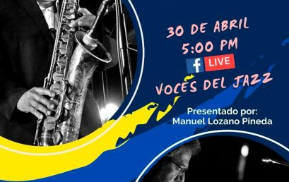 Conversatorio sobre el Jazz en Colombia con Óscar Acevedo