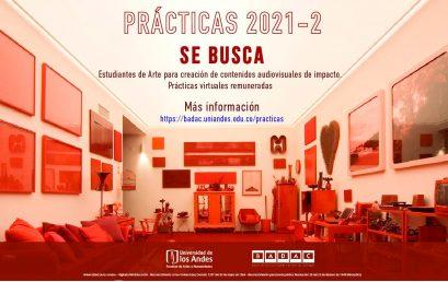 Prácticas virtuales remuneradas para estudiantes de Arte en el BADAC
