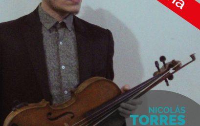 Recital de grado: Nicolás Torres, viola
