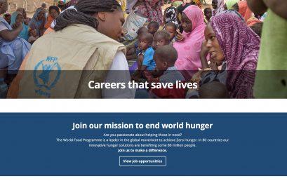 Convocatoria Programa Mundial Alimentos ONU