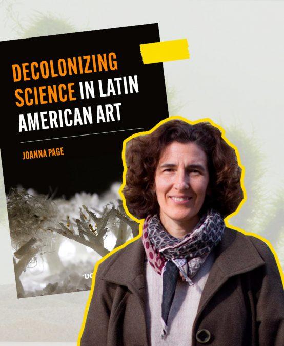 La obra Dibujo habitable de nuestra profesora Lina Espinosa publicada en el libro Decolonizing Science in Latin American Art