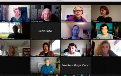 Encuentro de intercambio online entre estudiantes de la Universidad de los Andes y la Academia de Arte Libre de Mannheim
