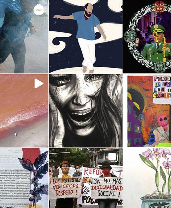 Nuestra galería de Instagram Facartes está abierta para la comunidad durante el paro