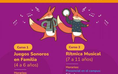 Cursos intersemestrales 2021 del Programa Infantil y Juvenil de Formación Musical – PIJ