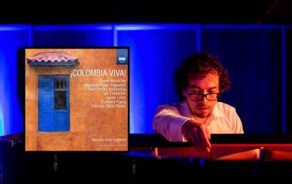 Mauricio Arias-Esguerra lanza ¡Colombia Viva!, su primer álbum de solo piano