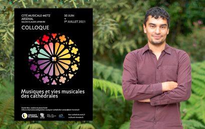 Rondy Torres participa en coloquio en Francia sobre música en las catedrales