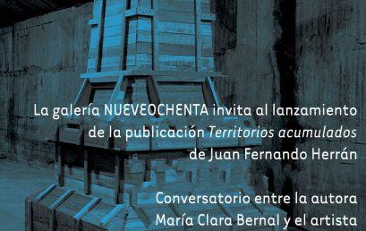 Lanzamiento de Territorios acumulados de Juan Fernando Herrán   Uniandes