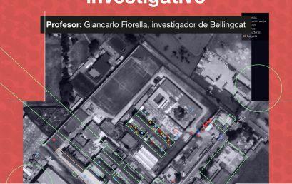 Fuentes abiertas, datos y mapas del periodismo investigativo