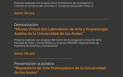 Inauguración de L3A. Laboratorio de Arte y Arqueología
