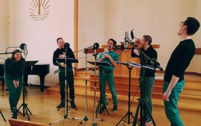 Calmus Ensemble graba obra de María Gabriela Rubio, estudiante de Composición