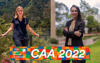 Verónica Uribe y Juanita Solano participarán en la conferencia anual de la College Art Association 2022