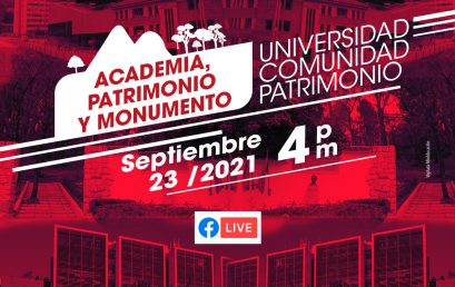 Conversatorio Academia, Patrimonio y Monumento: Miradas transversales