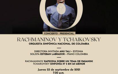 Esteban Labrador (piano) se presenta en el Teatro Colón