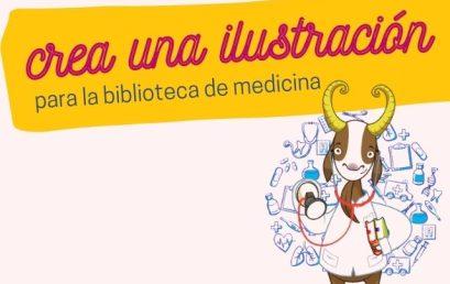 Convocatoria: Cree una ilustración para la biblioteca de Medicina